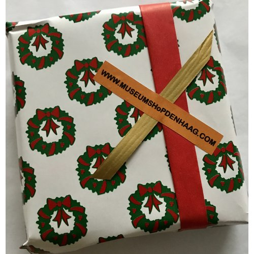 Yes, I want my purchases wrapped in Christmas gift wrap, for free!