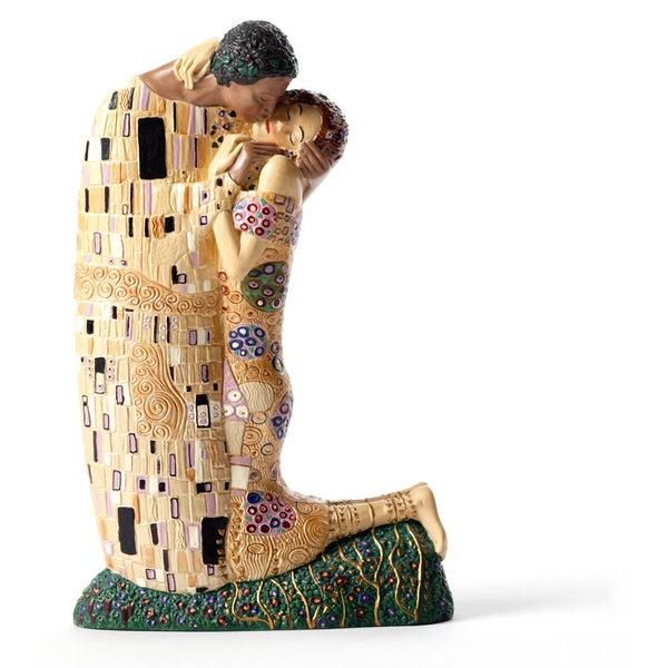 Gustav Klimt's kiss