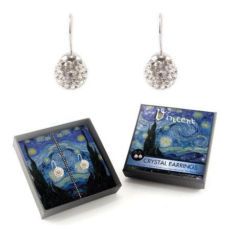 Sternennacht Kristallohrringe