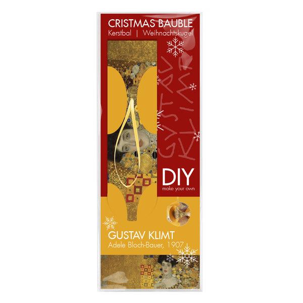 Weihnachtskugel 'Klimt' faltbar