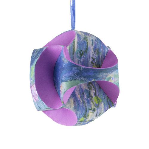 Kerstbal 'Monet'  vouwbaar