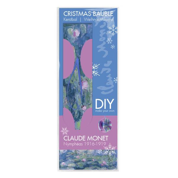 Weihnachtskugel 'Monet' faltbar