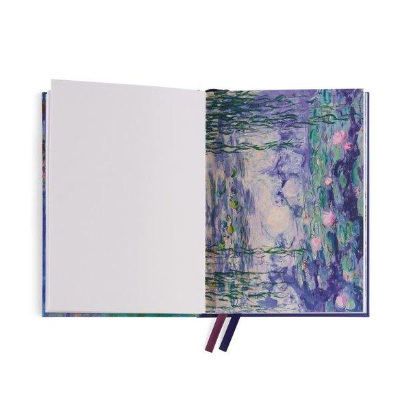 Notizbuch Monet-Glyzinien