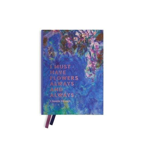 Notebook Monet- Blauweregen