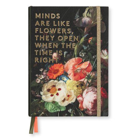 Notebook flowers by Rachel Ruysch