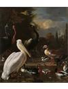 Sleutelhanger  kraanvogel