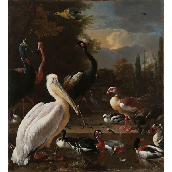 Rijksmuseum   rugzak Melchior d'Hondecoeter, c