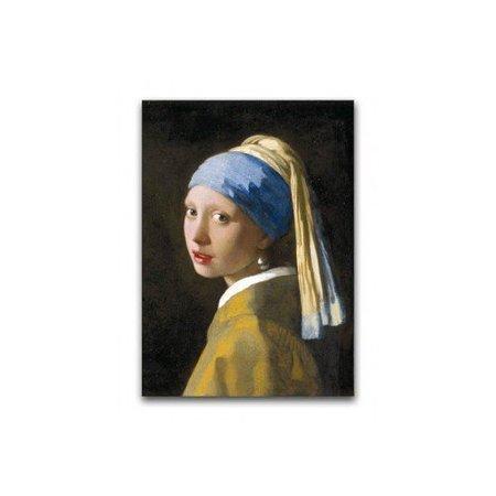 Poster la Jeune Fille à la perle de Vermeer