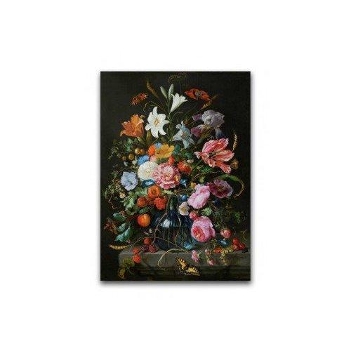 Poster Vase mit Blumen