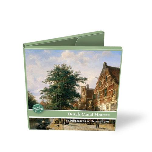 Folder cards canal houses