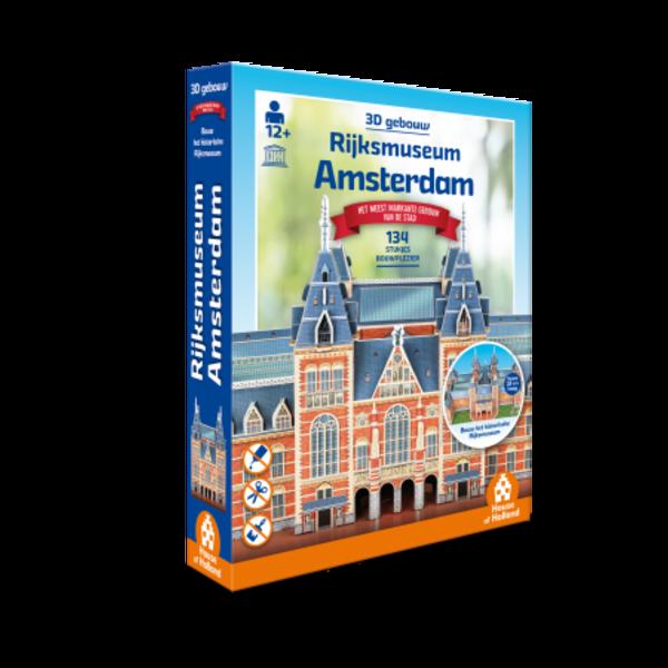 3D Rijksmuseum Amsterdam puzzel