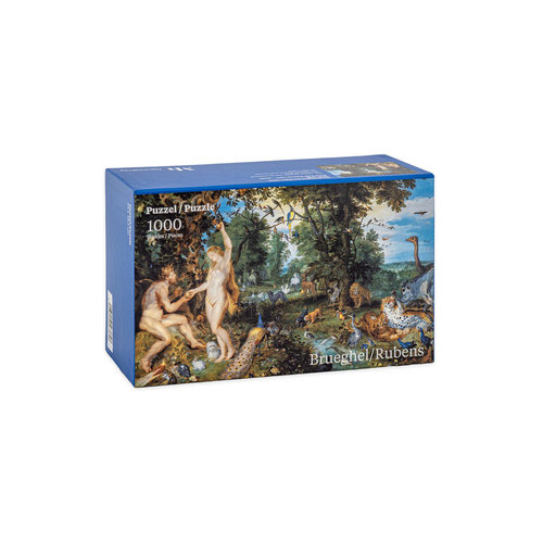 Paradise puzzle from Brueghel and Rubens
