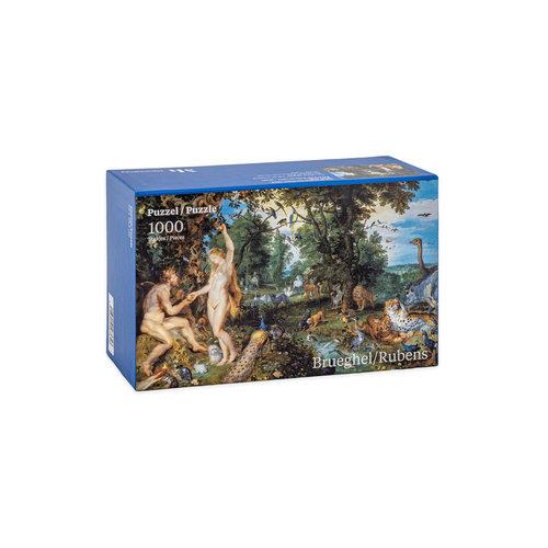 Puzzle paradisiaque de Brueghel et Rubens