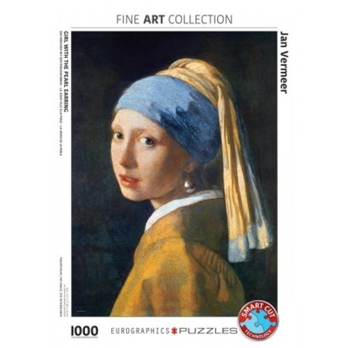 """Puzzle """"Girl with a Pearl Earring"""""""