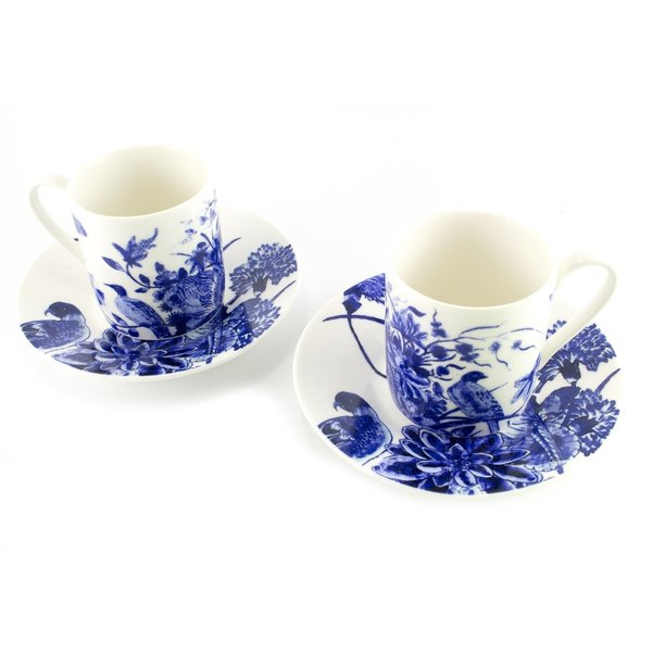 Espresso set Delft blue