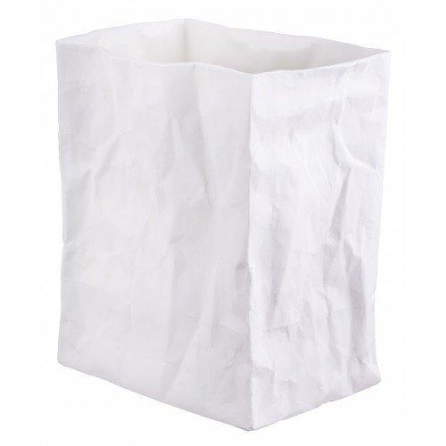 Porcelain bag vase