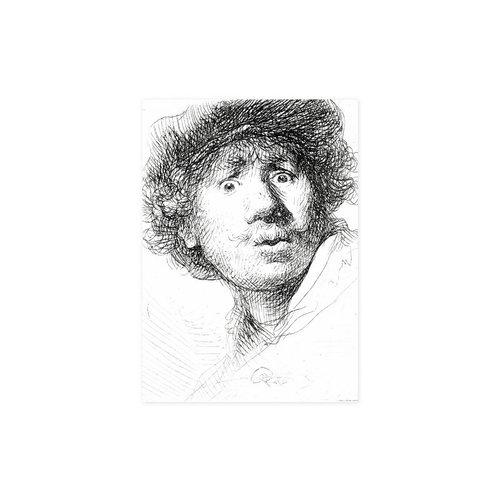 """Geschirrtuch """"Rembrandt"""""""