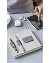 "Notebook with elastic organizer ""Flex"" Gray"