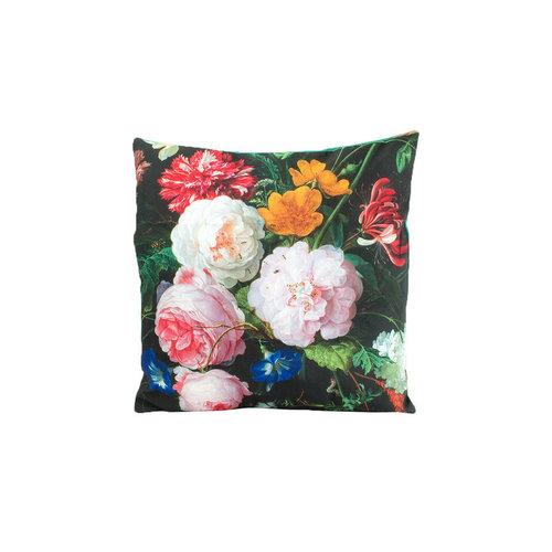 "Cushion cover ""Flower still life"""