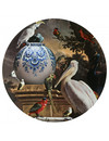 Large wall plate Melchior d'Hondecoeter pelican
