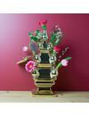 Golden tulip vase 3 parts