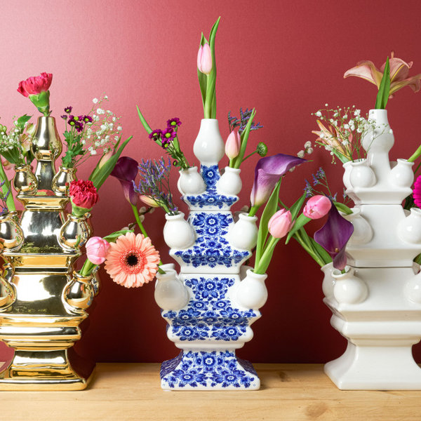 Tulip vase 3 parts