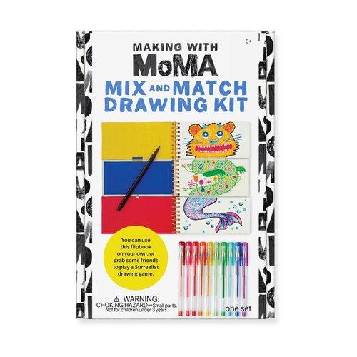 Moma mix en match teken kit