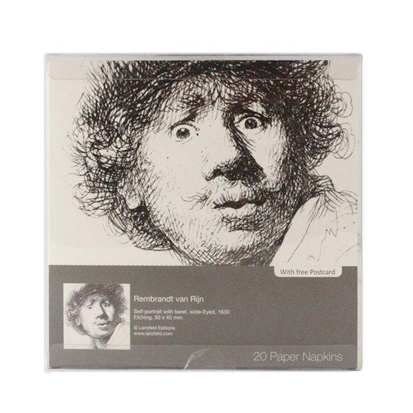 Rembrandt servetten