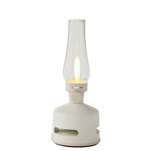 Lampe rétro avec haut-parleur et LED