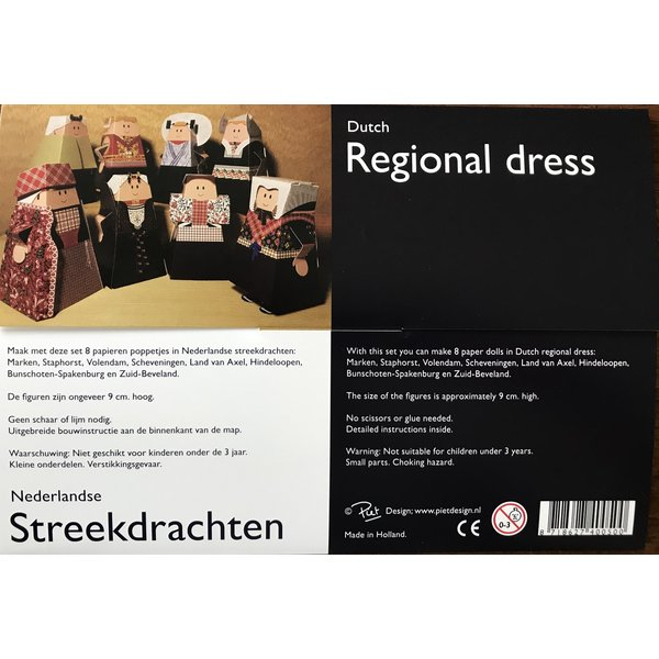 Folding Dutch Regional Costumes