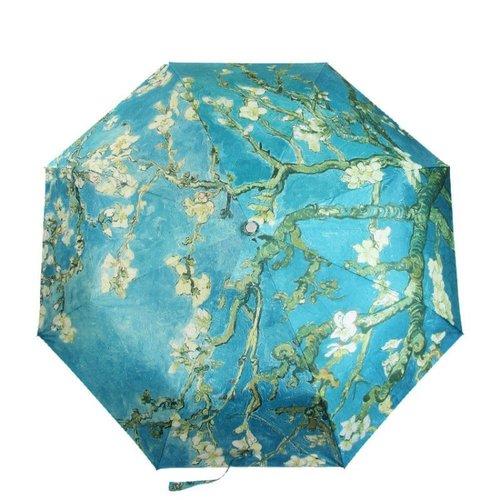 Almond blossom van Gogh folding umbrella