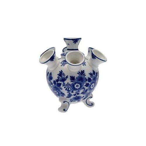 Tulip vase blue flower 13cm