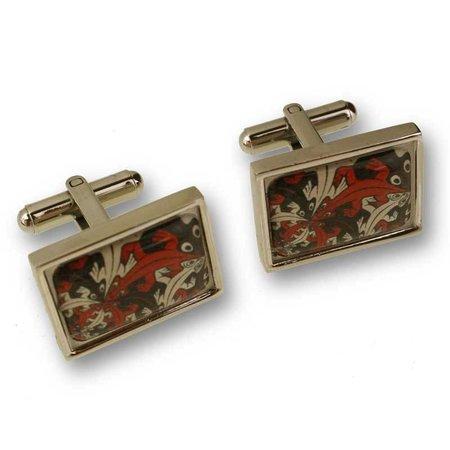 Escher cufflinks