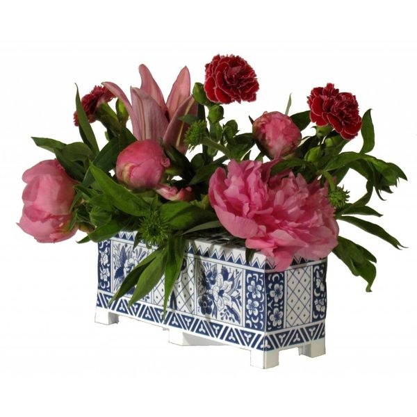 Foldable flowers block