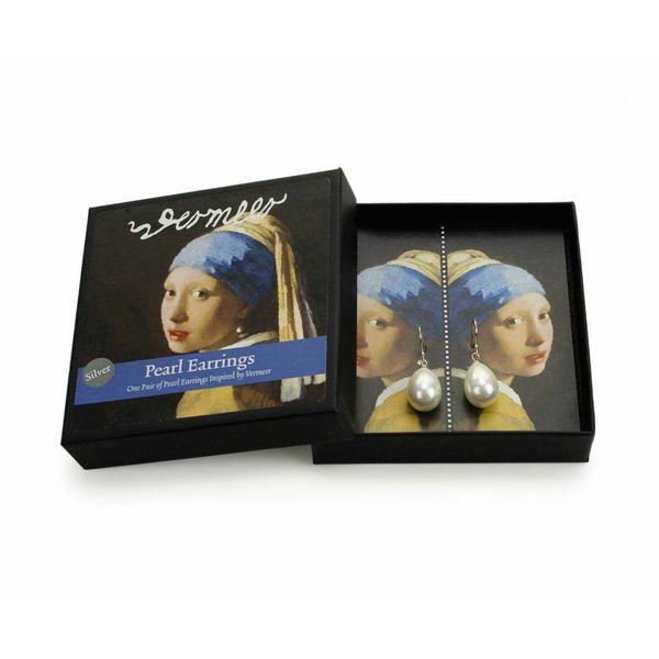 Ohrring-Mädchen mit dem Perlenohrring