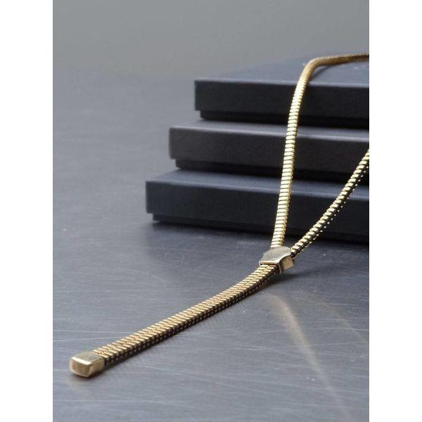 Zipper gold plated