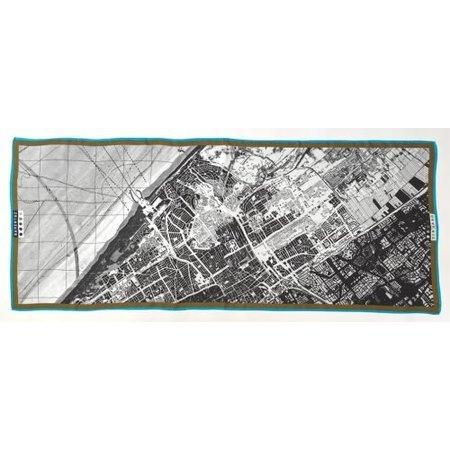 Sjaal Plattegrond Den Haag (100% modal)