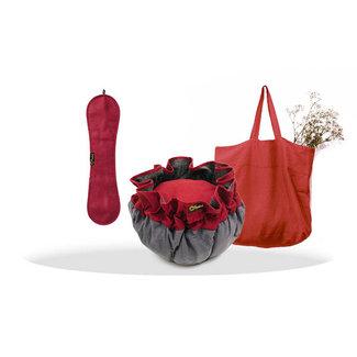 EcoStoof® Essentials Vorverkaufsset Apfelrot
