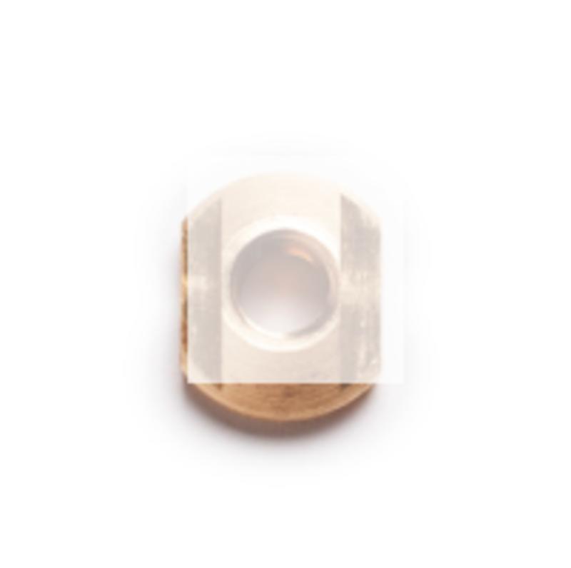MFC M8 T-Nut Brass (plate)
