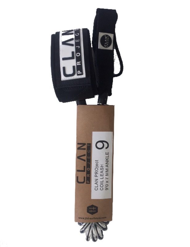 Clan Project Clan Project Leash 9'' coiled