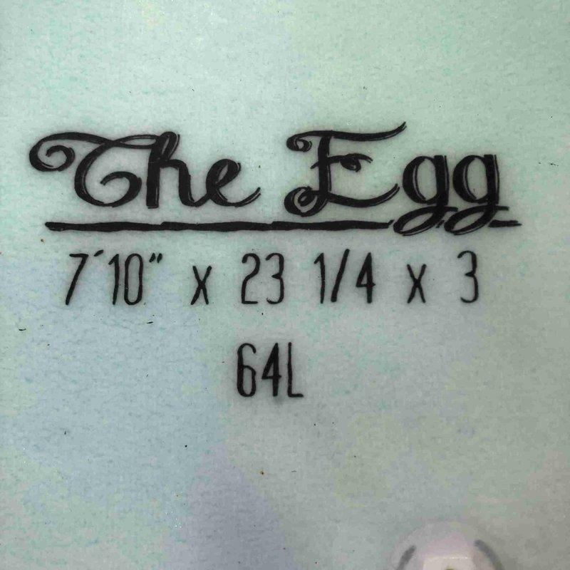 "Indio The Egg 7' 10"""