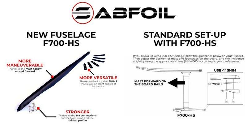 Sabfoil Sabfoil  Fuselage 700 - High Strength