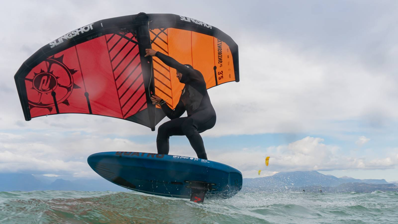 Wing-foiling:<br>a new addiction.