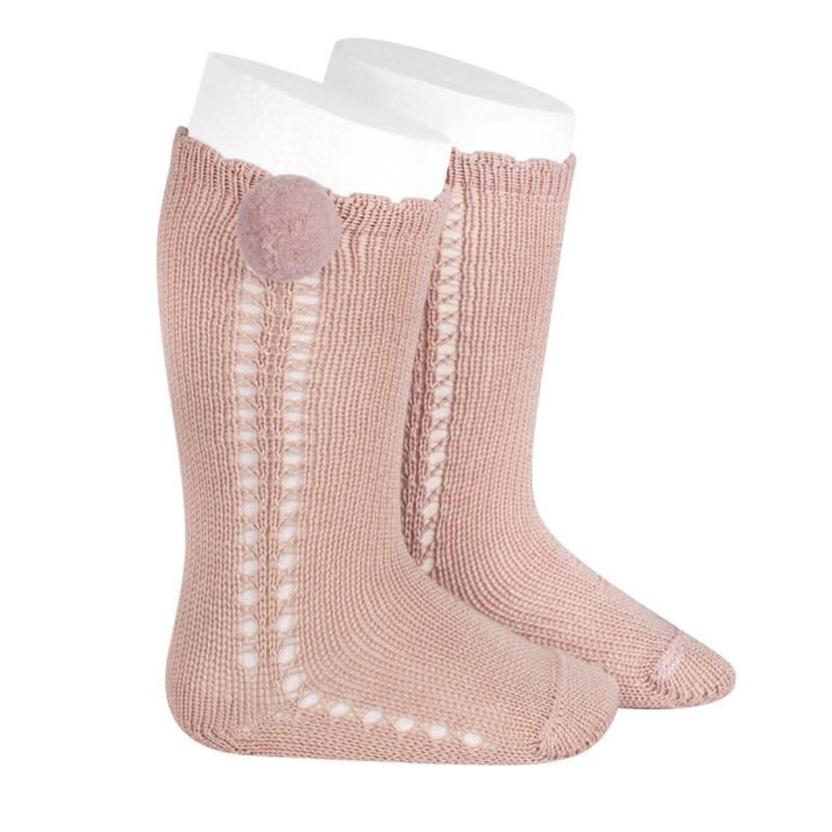 Condor Socks Pompom - Rosa