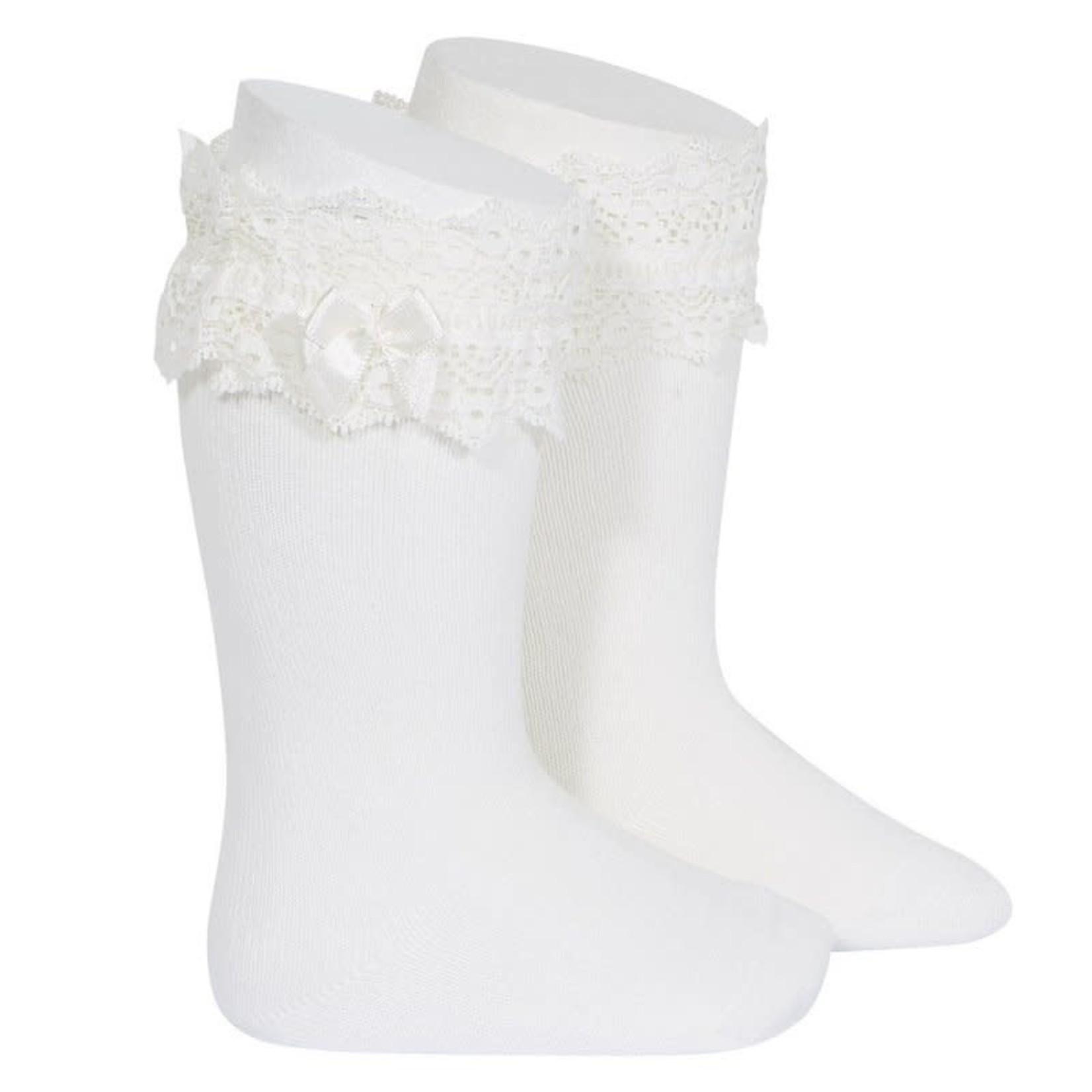 Fantasy Socks Knee High - Offwhite