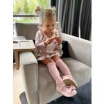 Condor Lace Socks - Dusty Pink