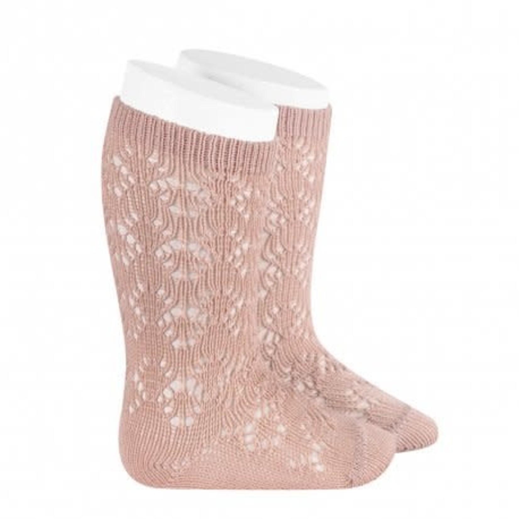 Socks Open -Rosa