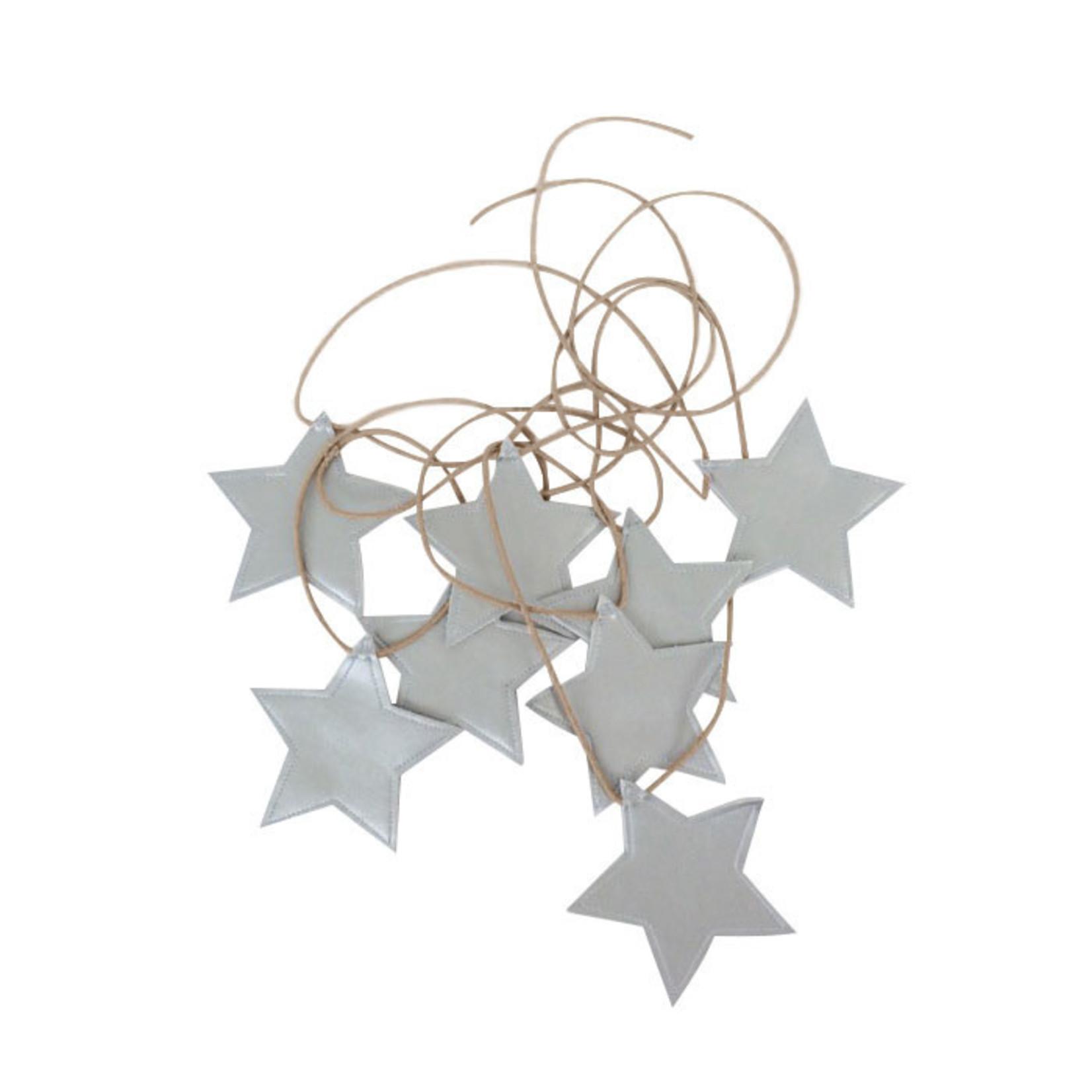 Star Garland - Silver