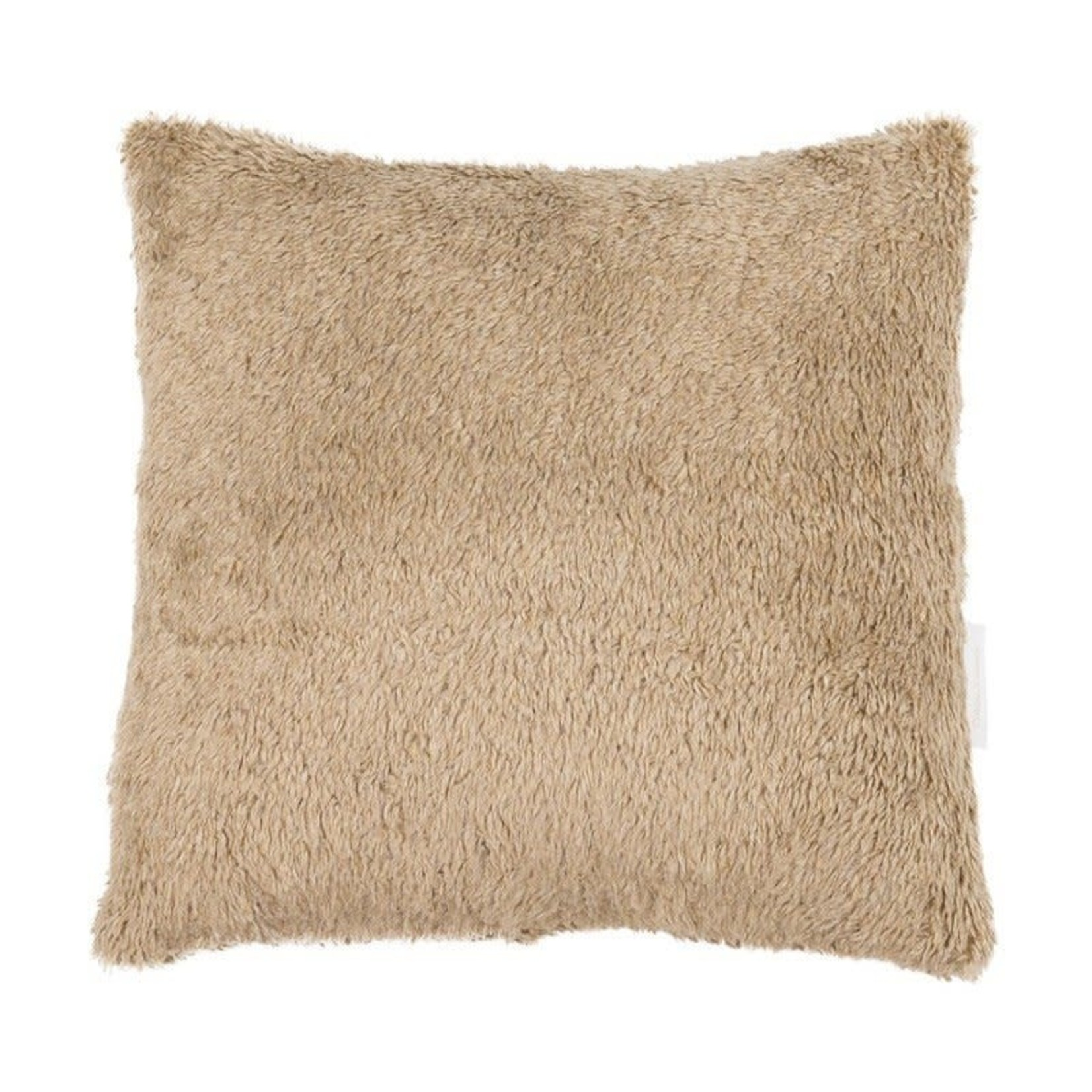 Cotton & Sweets Sheepskin Boho Pillow