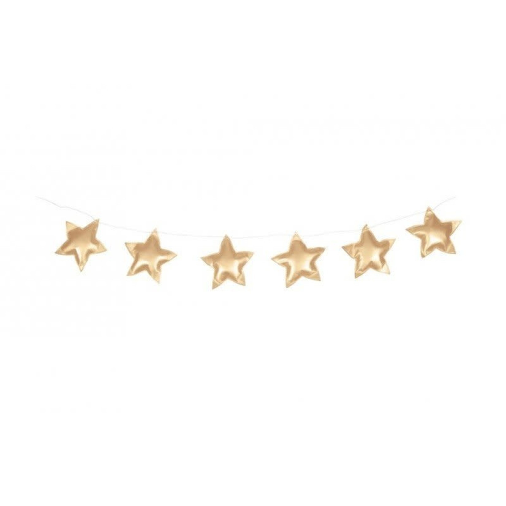 Cotton & Sweets Star Garland - Gold